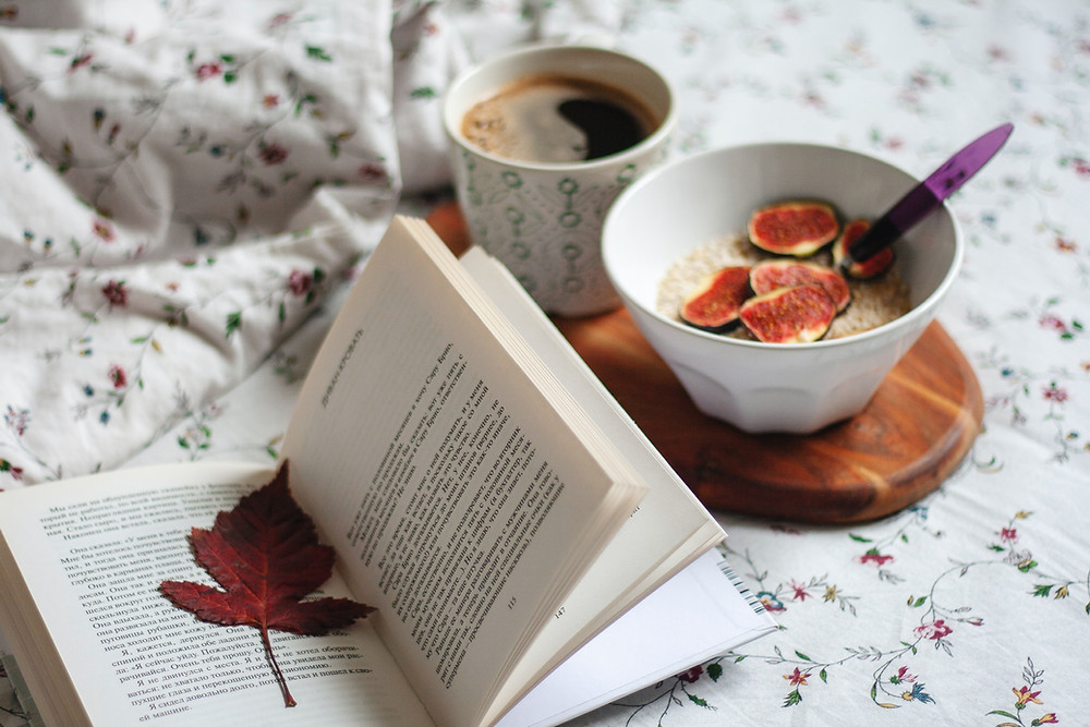 Breakfast With a Book, Image From Unsplash