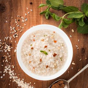 Porridge with Cinnamon Stewed Apples (serves 2)