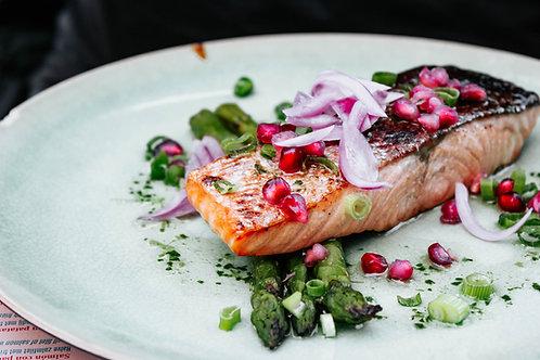 Salmon Meal Prep Tray