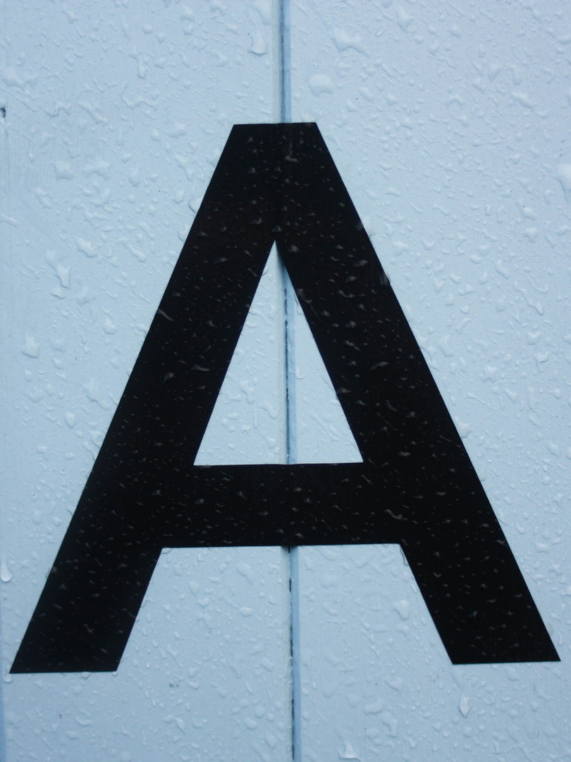 """Words Beginning with """"A"""""""