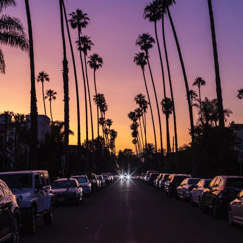 Viaggio di nozze in America Santa Monica
