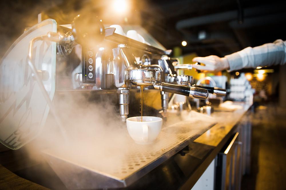 espresso machine, kees van der westen mirage