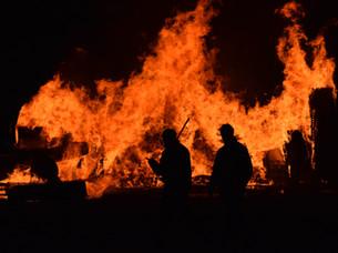 Burning by Tript Kaur