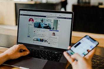 online, social media, website