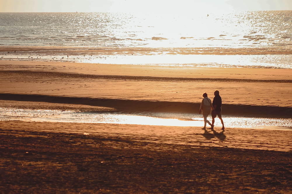 Exercise Ideas for Seniors Sunshine Coast include walking on the beach