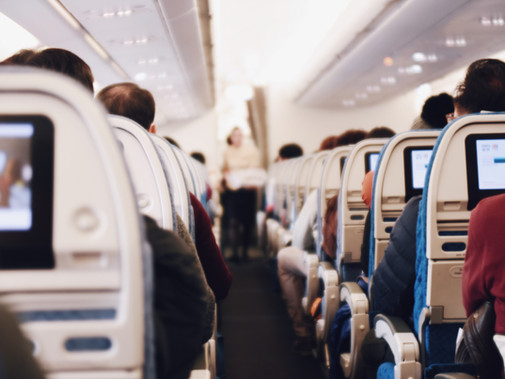 Areas to Disinfect When Travelling by Airplane