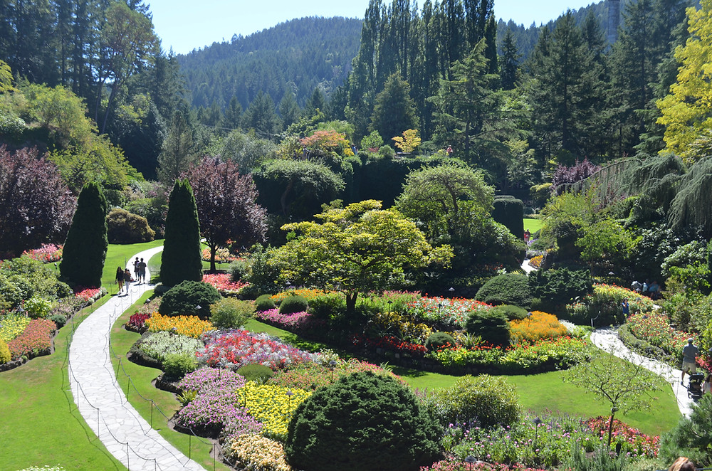 Butchart Gardens is a top thing to do in Victoria, BC