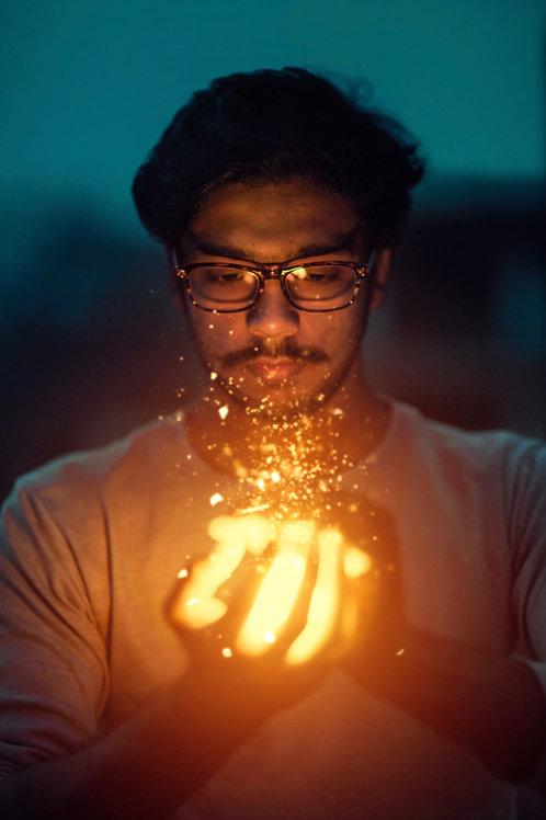 The Magickal Lightwork Advanced Degree Program - Manifest Desires & Goals!