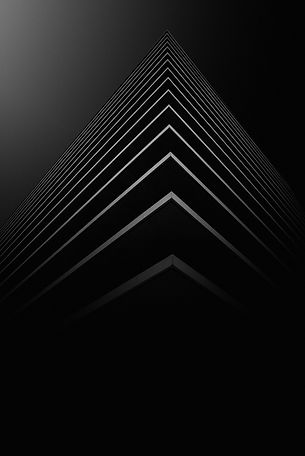 An abstract picture resembling the corner view of a high rise building.