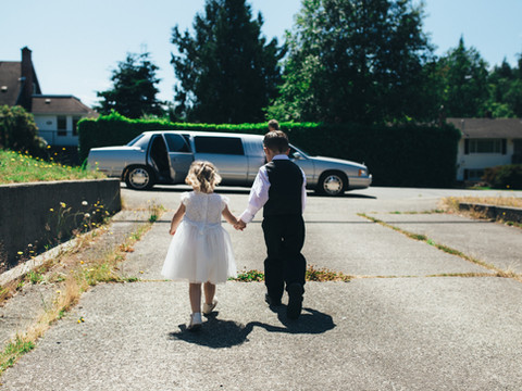Having kids at your Wedding