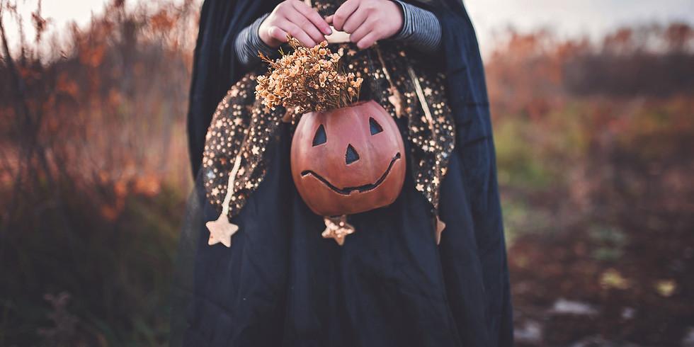 Sesiune gratuita de Halloween - grupa 2 (facilitator Steliana)