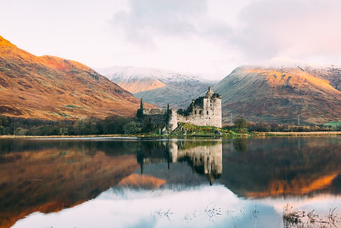 Scottish Castle - Image by Connor Mollison