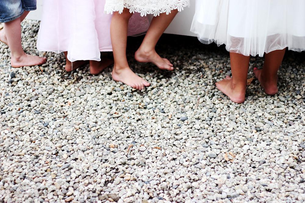 Kinder durch Rituale in Hochzeit einbinden