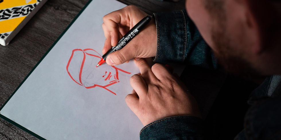 Virtual Art Class with Street Mural Artist Briell Giancola