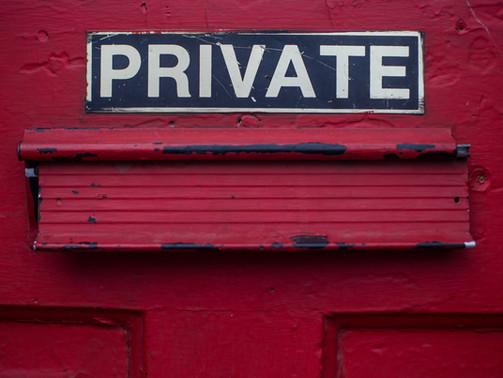 Privacy By Jasmine Drake