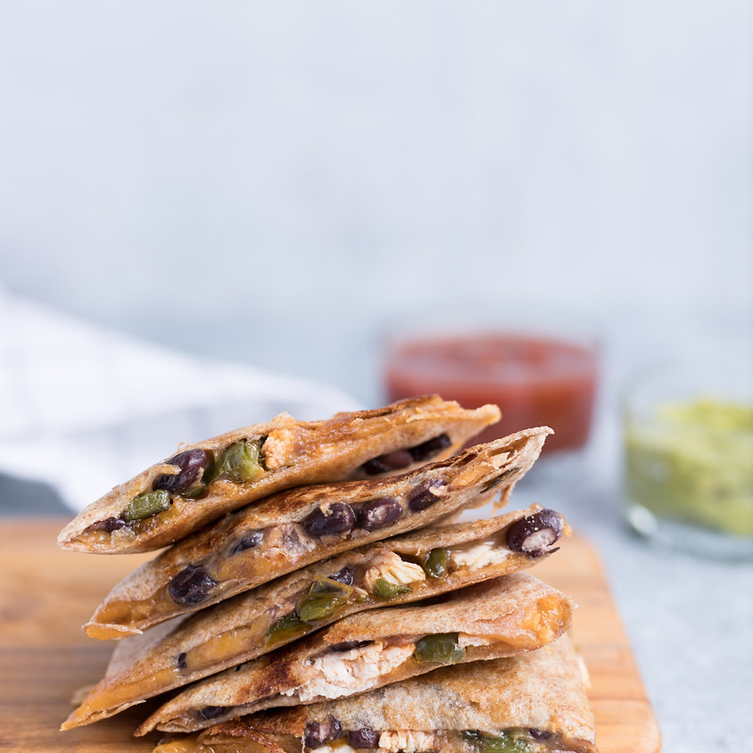 Virtual Kids & Teens: Chicken Quesadilla ~ 4:30 pm