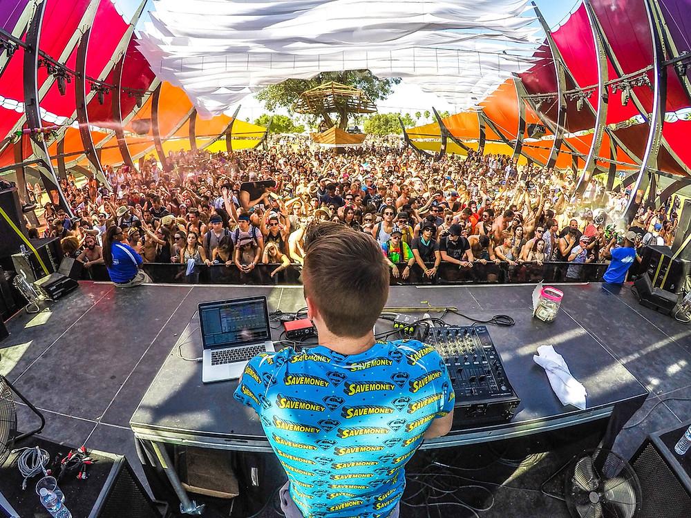 festivals festivaliers DJ volume sonore festival intensité sonore