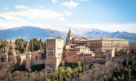 The glorious Alhambra in Granada