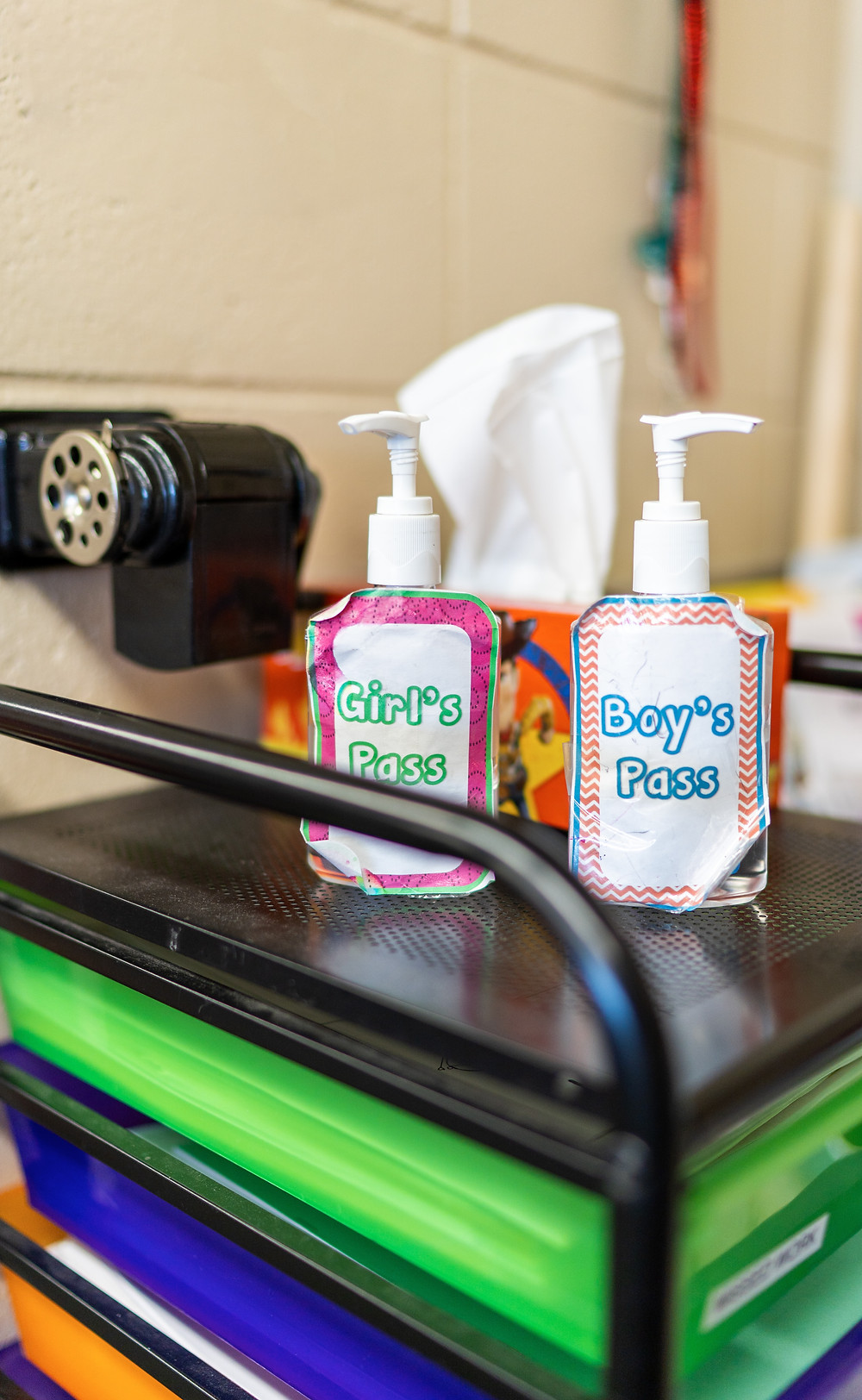 School Classroom Hand Sanitizer