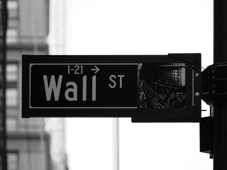 Random thoughts about Wall Street