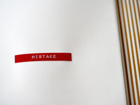 "Why I No Longer Say ""Mistake"""