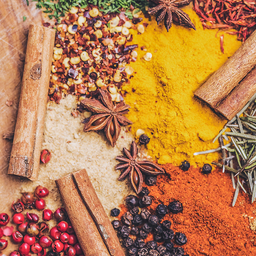 Spice Blends, Cocktails and Coffee Class