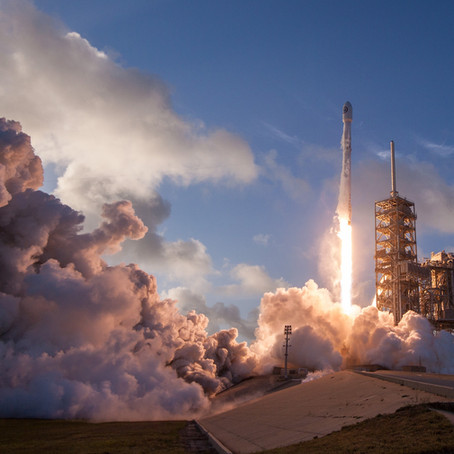 Huston, we have launch...
