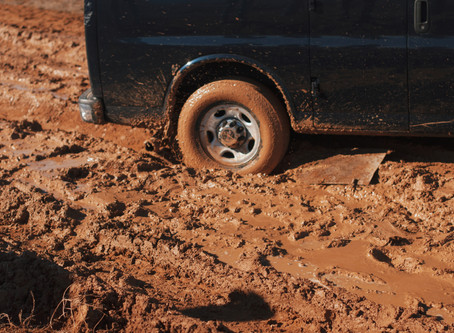 Don't get stuck in the mud!