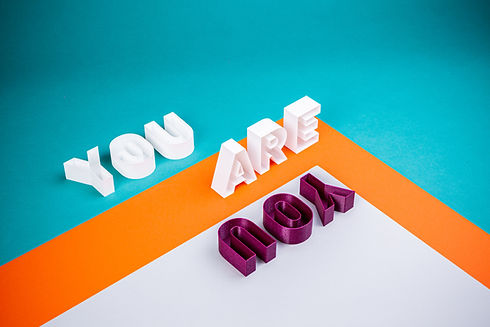 Words saying You are you Image by stefan moertl