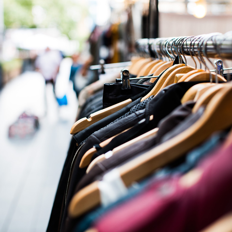 Thrift Shop Clothing Market - Stall Fee - 22nd August 2021