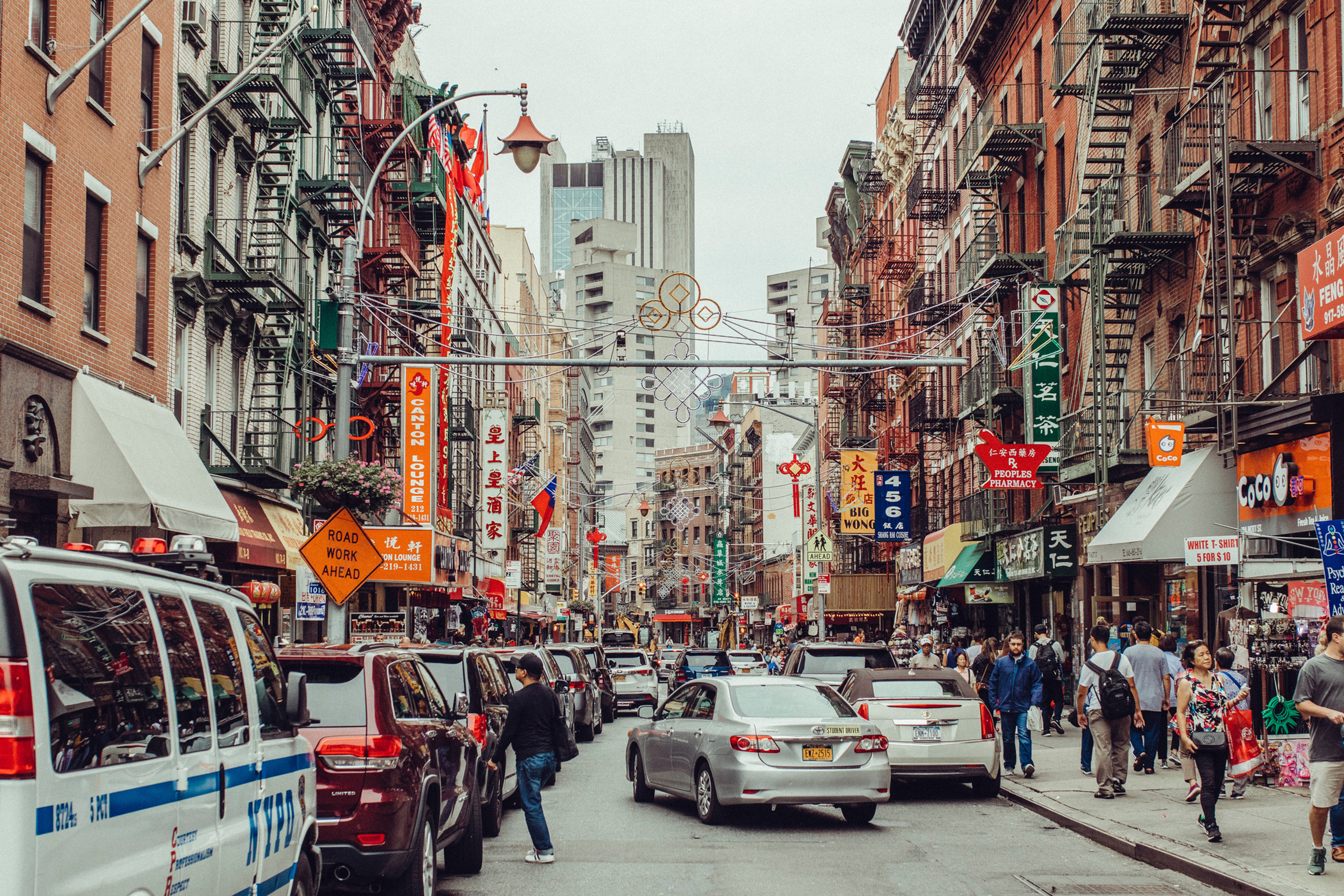 Chinatown and Little Italy Tour