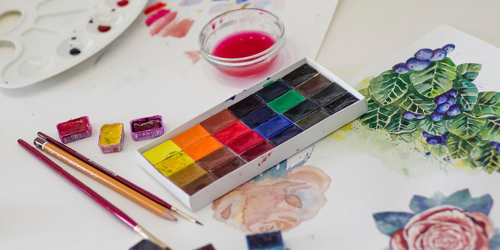Workshop: Fall Watercolors