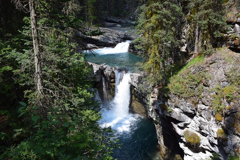 Johnston Canyon hike near Banff