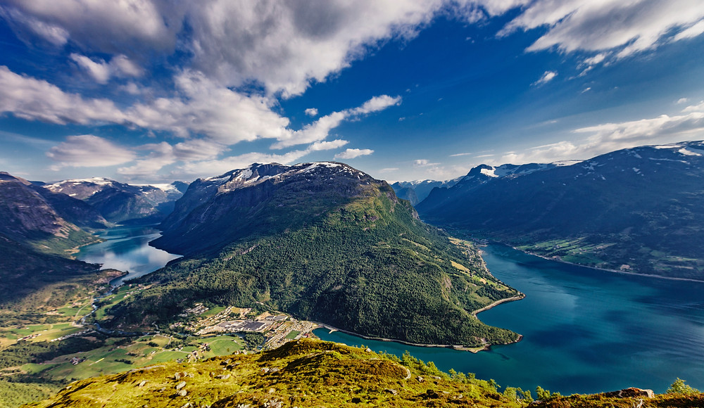 Loen is a must-visit on your road trip through norway