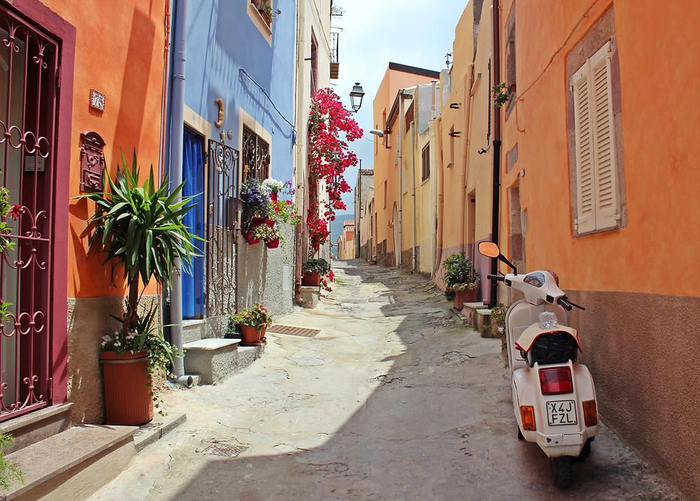 רחוב בסיציליה