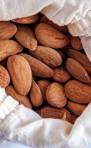 Organic Raw  Unpasteurized Nonpareil Almonds
