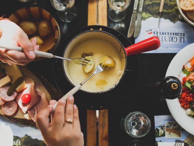 Kaasfondue & Raclette
