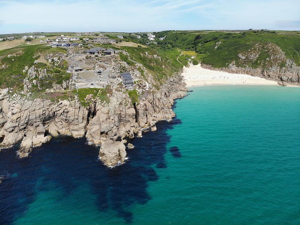 the coast of Cornwall England