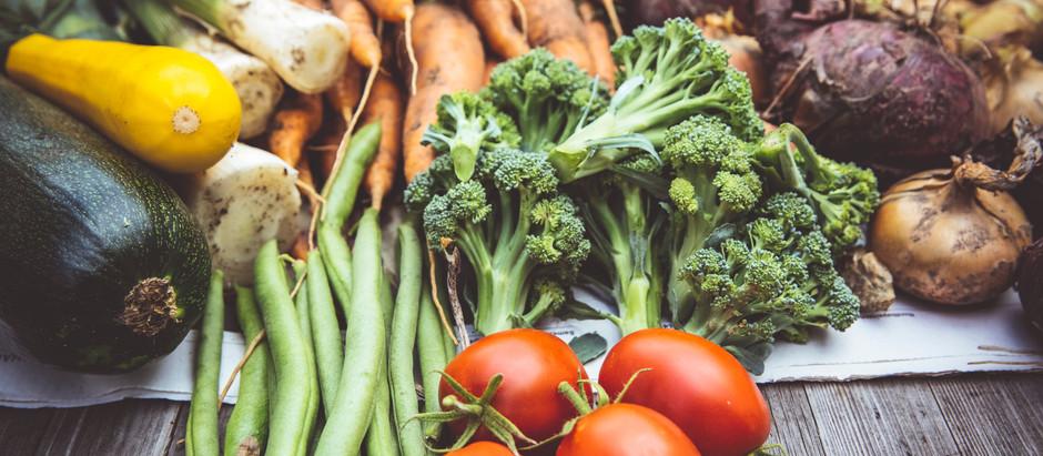 Les fruits et légumes d'août