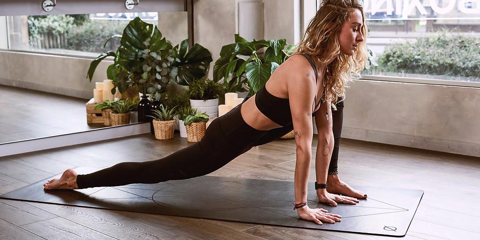 Mid-Morning Yoga Break