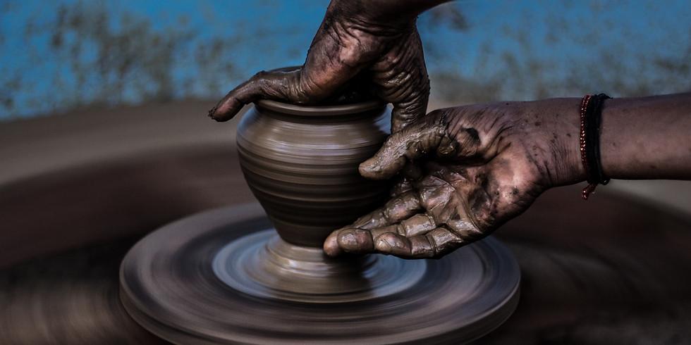 Pottery Mon 6:30pm 1/25