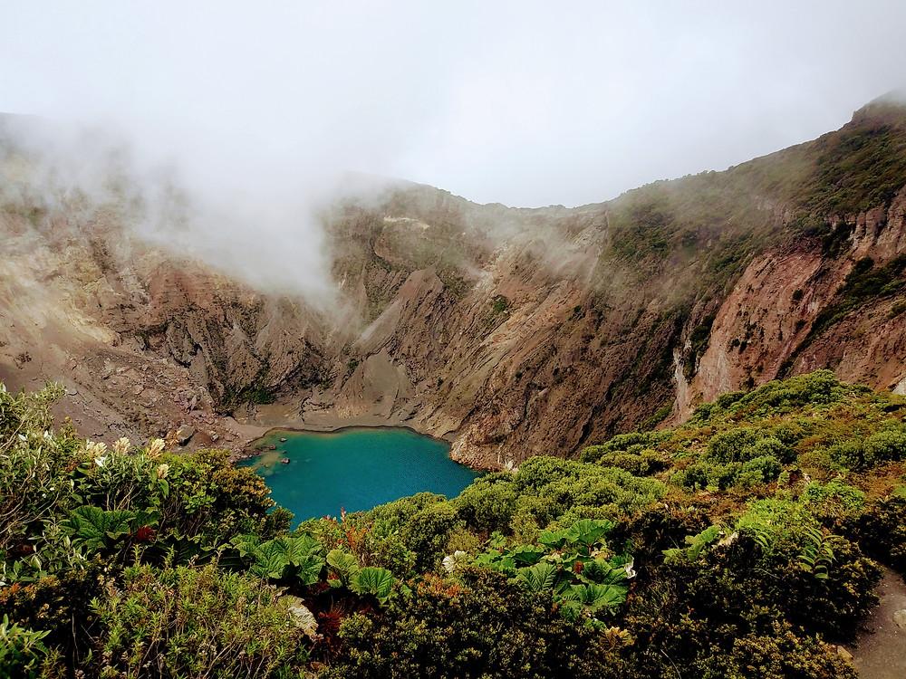 Lake in Central America