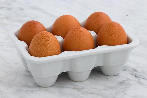 Chicken Eggs - 1/2 Dozen (6)