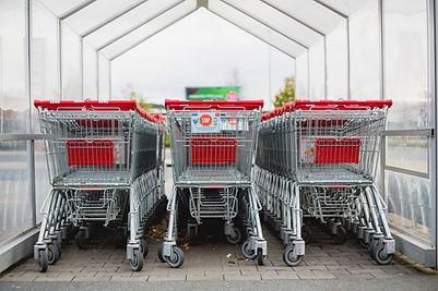 Retail shopping baskets