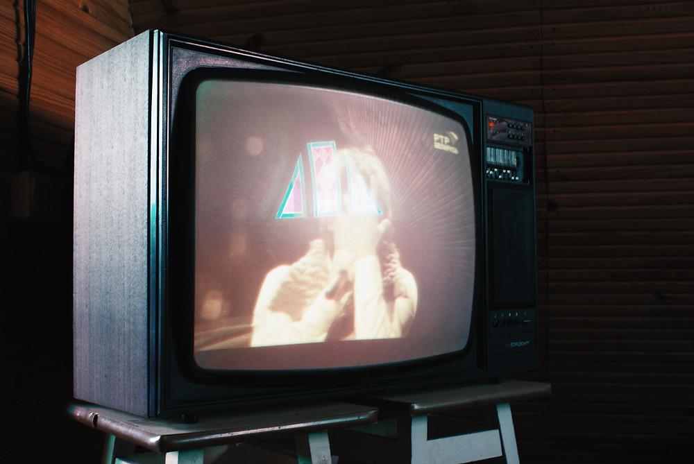 clip à la télévision