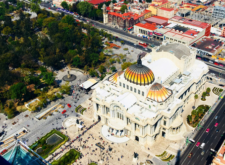 About Culture: Mexico City Fine Arts Palace.
