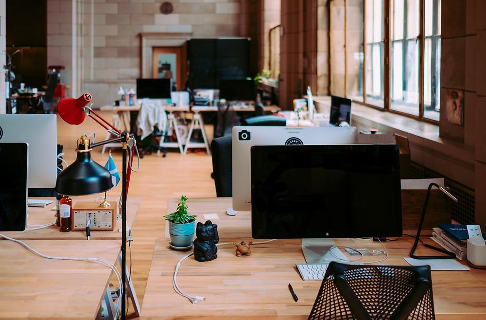 office furniture, office ergonomics