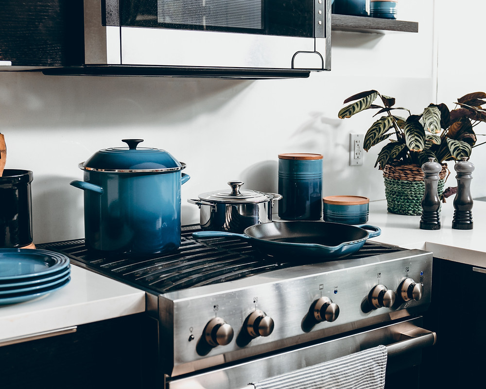 blue appliances
