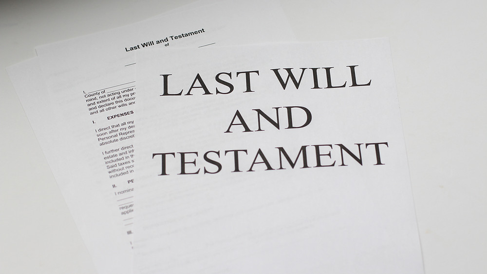Last Will & Testament, Estates Attorney Pinelands Preparing a will