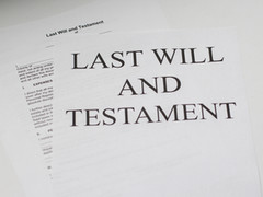 How Do I Keep Former Will Beneficiary from Cheating?